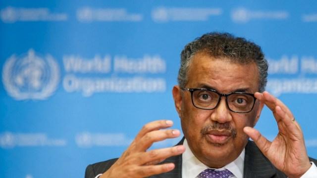 El director general de la Organización Mundial de la Salud (OMS), Tedros Adhanom Ghebreyesus (EFE, archivo)