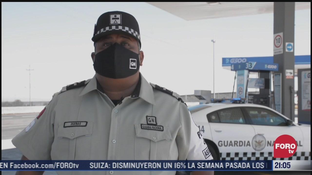 el oficial duenas evito incendio en una gasolinera de tlaxcala