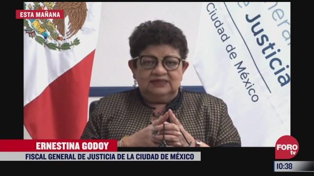 ernestina godoy presenta informe sobre acciones contra violencia de genero