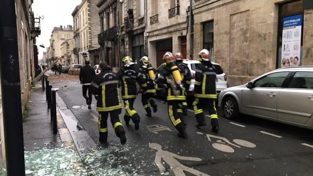 La explosión se produjo en un garaje de un pequeño edificio en la ciudad de Burdeos, Francia