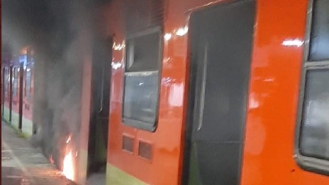 Se-registra-flamazo-en-neumático-de-tren-de-L-3-del-Metro