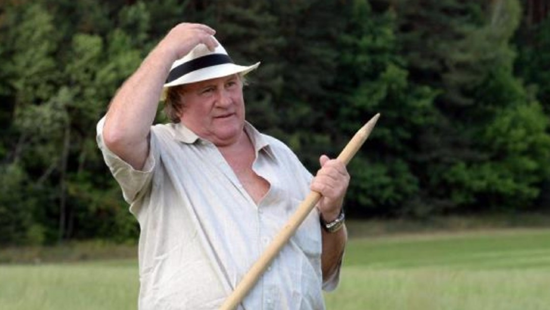 Gérard Depardieu, imputado por abuso sexual.