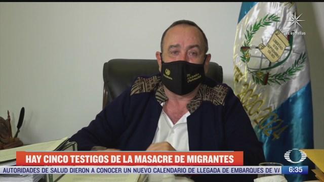 guatemala asegura que hay testigos protegidos en eeuu por masacre en tamaulipas
