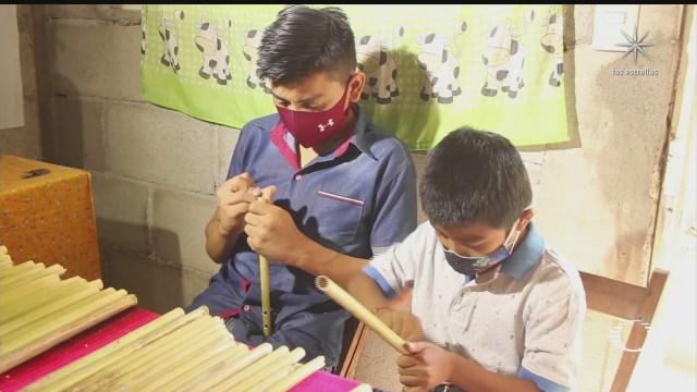 indigenas chiapanecos preservan artesanias en bambu