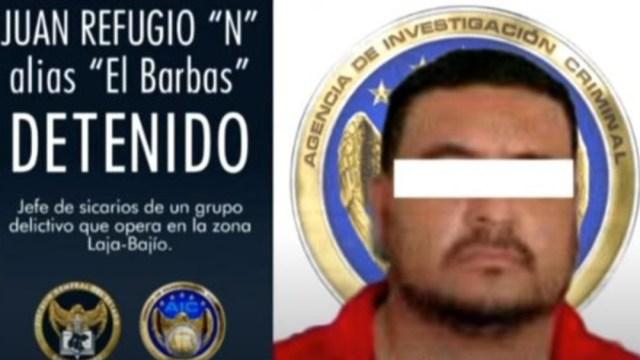 Juan Refugio 'N'. alias 'El barbas'