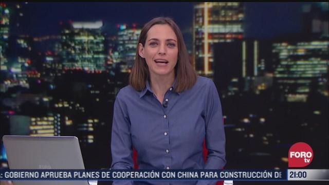 las noticias con ana francisca vega programa del 12 de febrero de