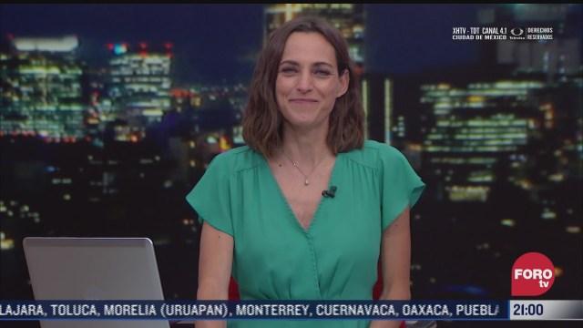 las noticias con ana francisca vega programa del 18 de febrero de