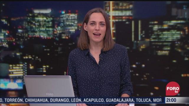 las noticias con ana francisca vega programa del 22 de febrero de