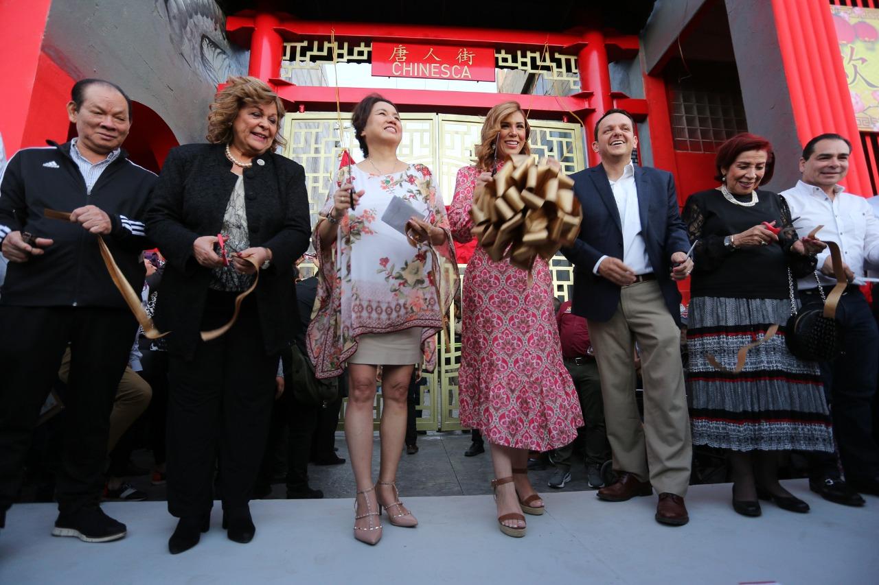 Mexicali, Baja California, Barrio Chino, cultura, remodelación
