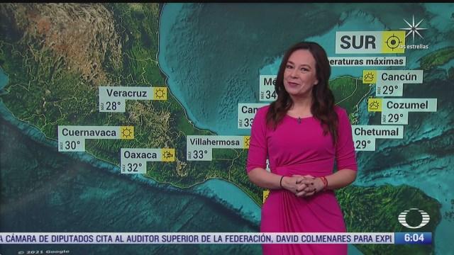 onda de calor afectara el occidente centro y sur de mexico