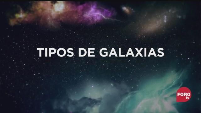 que tipos de galaxias existen