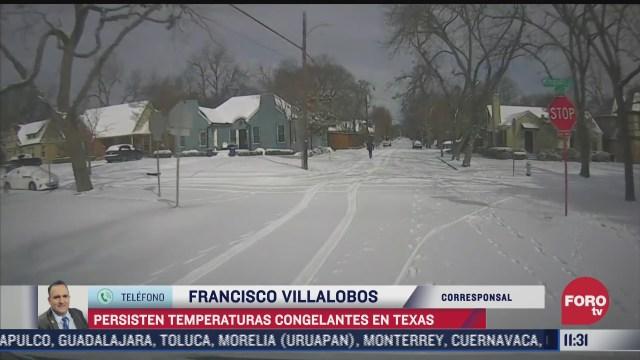 temperaturas congelantes en texas causan mas danos que un huracan