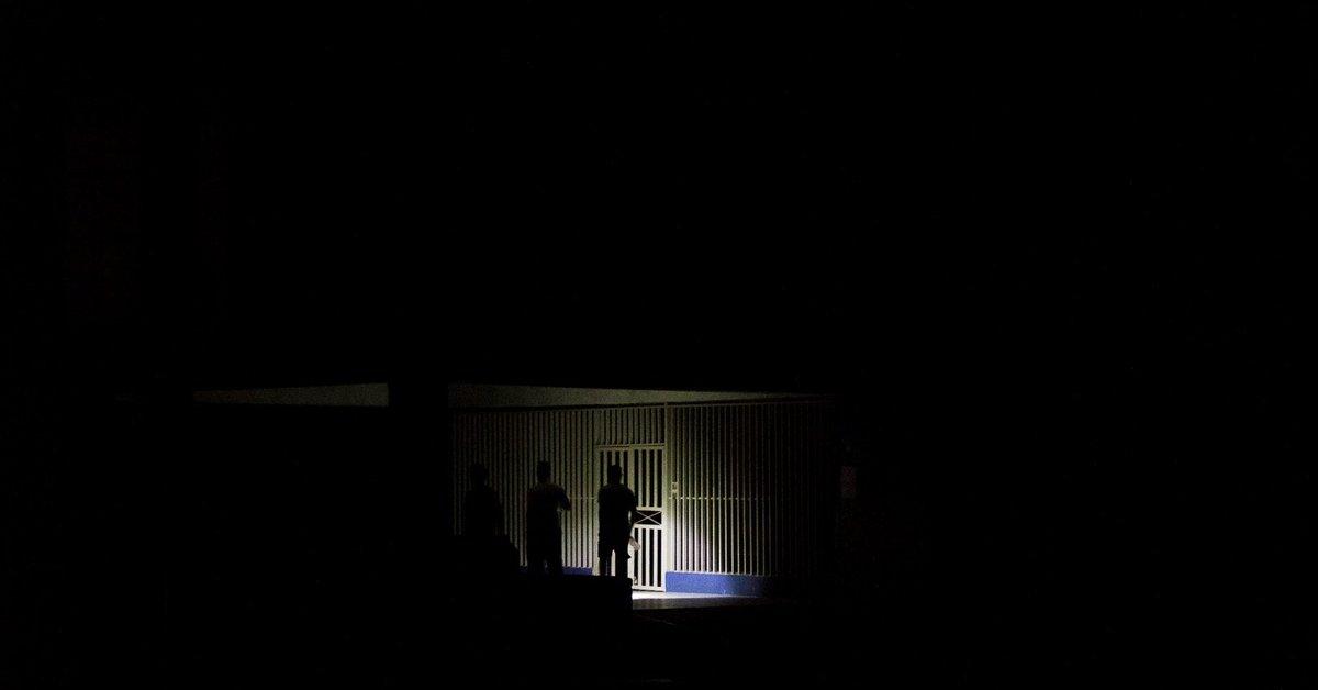 Un corte eléctrico deja a oscuras el occidente de Venezuela