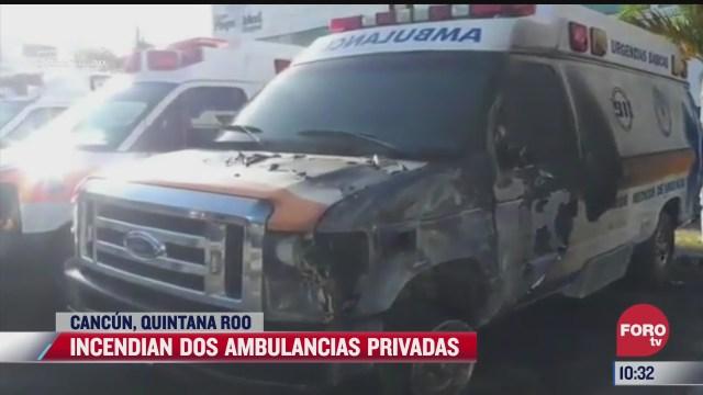 ambulancias privadas en cancun quedaron asi
