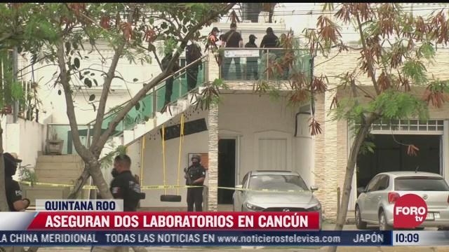 aseguran dos laboratorios en cancun que aplicaron pruebas covid 19 a jovenes argentinos