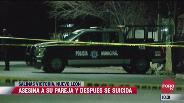 asesina a su pareja y se suicida despues en nuevo leon