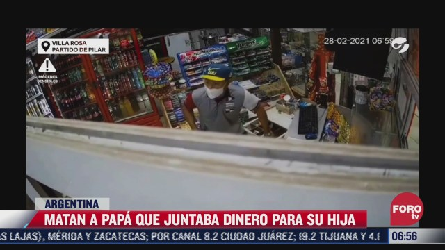 asesinan a papa que juntaba dinero para la fiesta de 15 anos de su hija