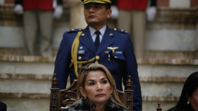 Jeanine Añez, expresidenta interina de Bolivia (Getty Images)