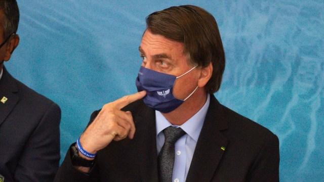 El presidente de Brasil, Jair Bolsonaro (Getty Images)