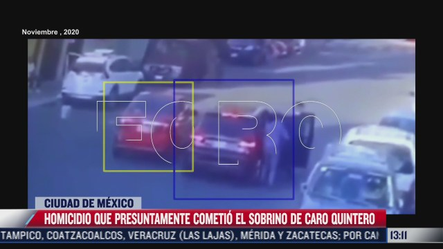 camaras de seguridad graban homicidio que cometio el sobrino de caro quintero