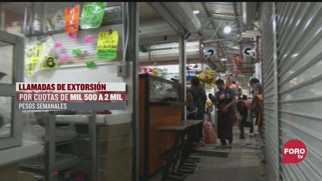comerciantes del mercado hidalgo denuncian robos en sus locales
