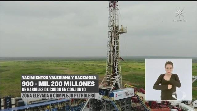 con nuevo yacimiento conmemoran expropiacion petrolera