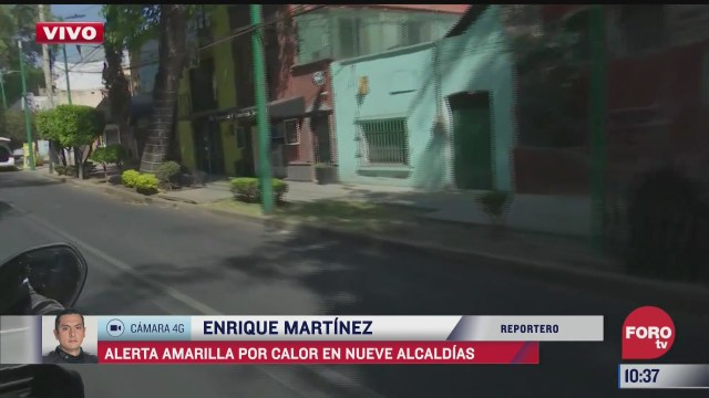 continua el calor en la ciudad de mexico