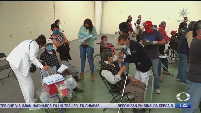 continua vacunacion contra covid 19 para adultos mayores en cdmx y ecatepec