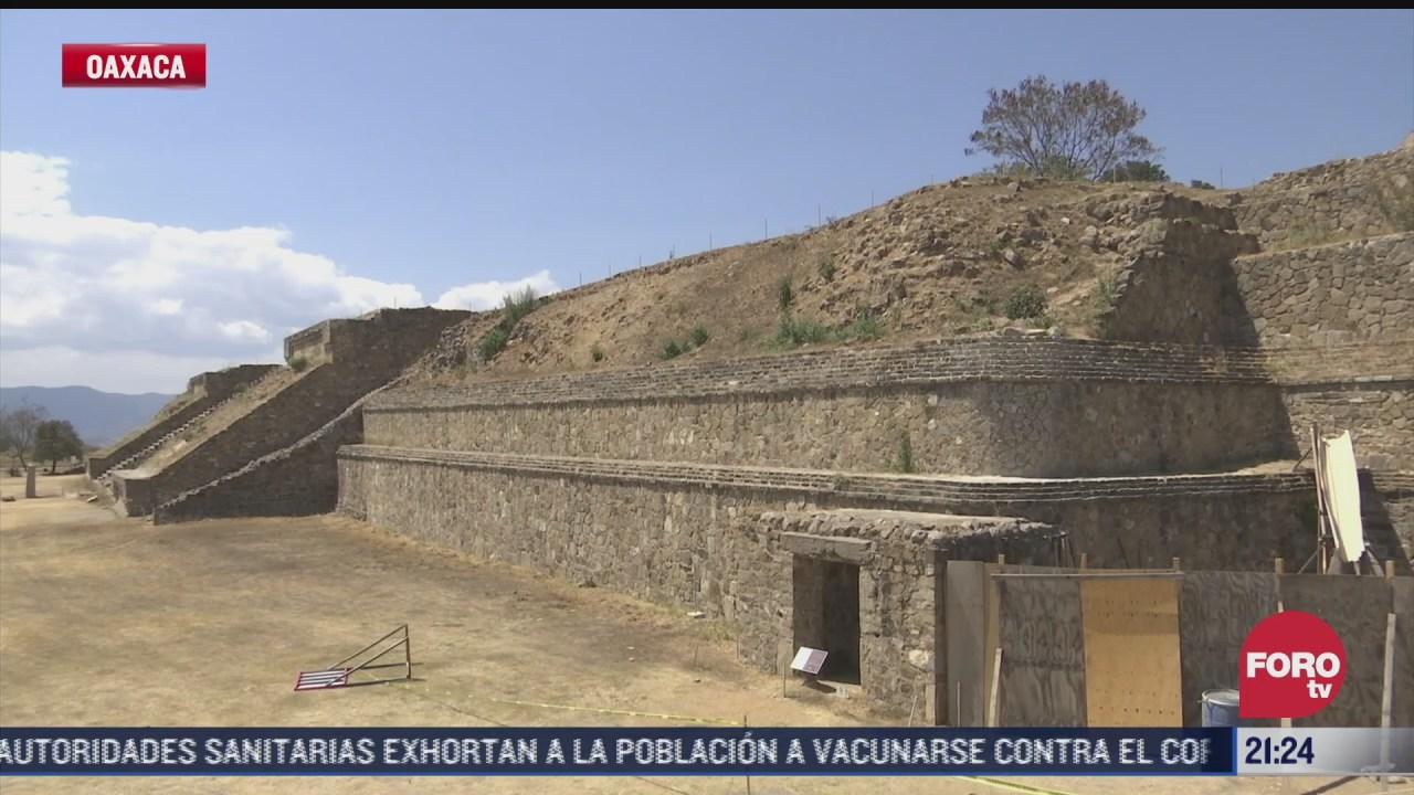 controlan acceso de visitas a monte alban por pandemia