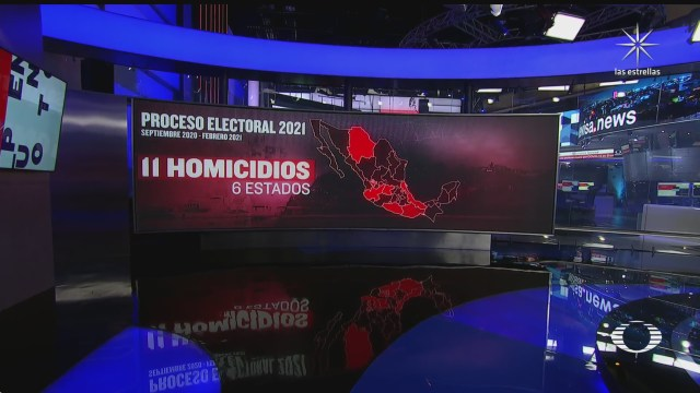 de septiembre a la fecha han sido asesinados 11 aspirantes a cargo de eleccion popular