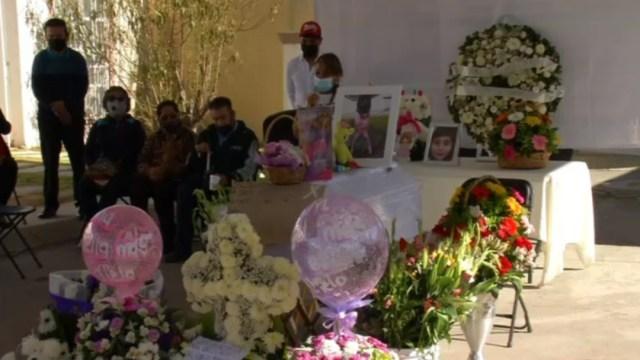 Despiden a Nicole, la niña de siete años asesinada en Tizayuca