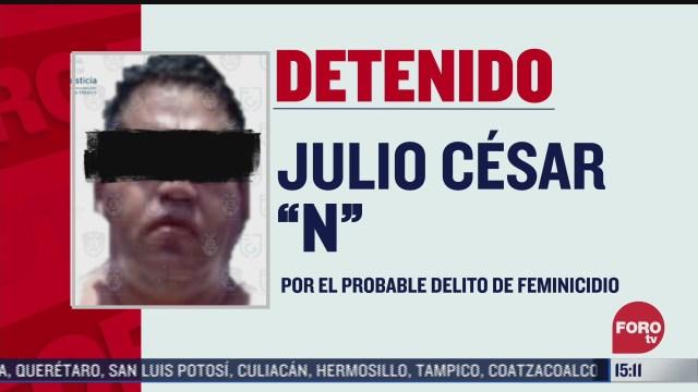 detienen en xochimilco a presunto feminicida