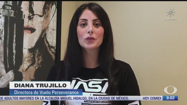 diana trujillo la colombiana que narro en espanol el aterrizaje de una nave de la nasa