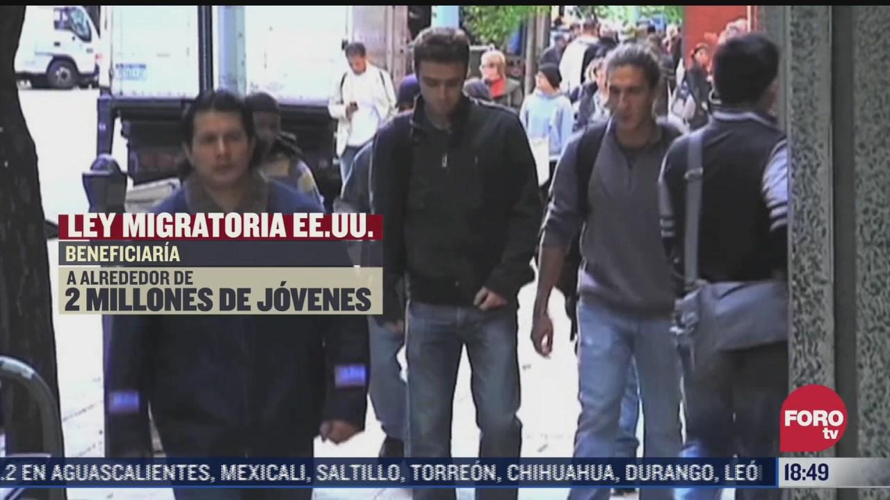 eeuu aprueba leyes en materia migratoria en beneficio de dreamers y trabajadores del campo