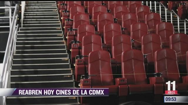 espectaculosenexpreso hoy reabren cines en la cdmx