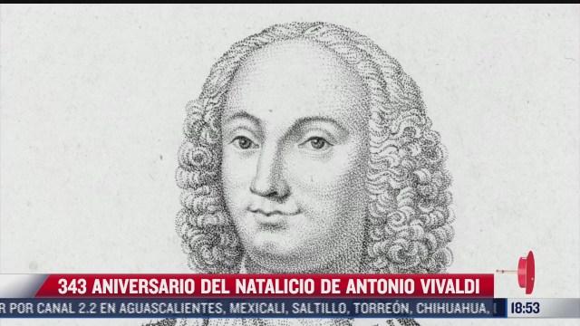 este 4 de marzo se cumplen 343 anos del natalicio de antonio vivaldi