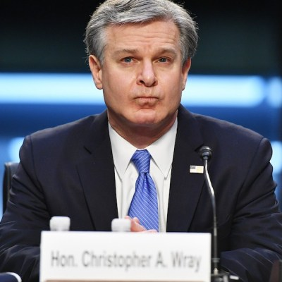 El director del FBI, Wray, testifica sobre los disturbios en el Capitolio (Getty Images)