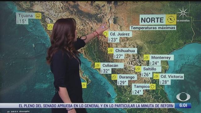 frente frio 39 provocara lluvias fuertes en sureste de mexico