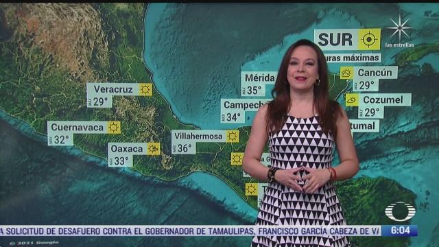 frente frio 39 y canal de baja presion provocaran lluvias fuertes en mexico