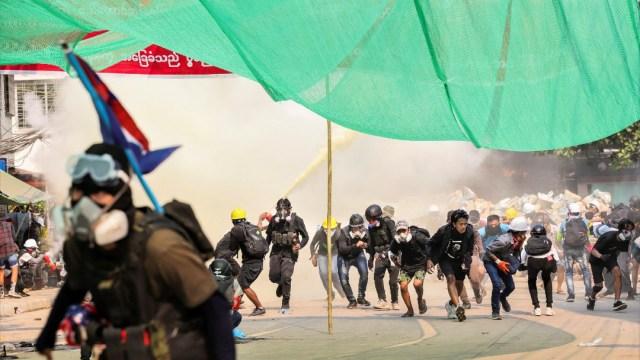 Fuerzas de seguridad de Myanmar matan a nueve personas, Indonesia pide fin a violencia