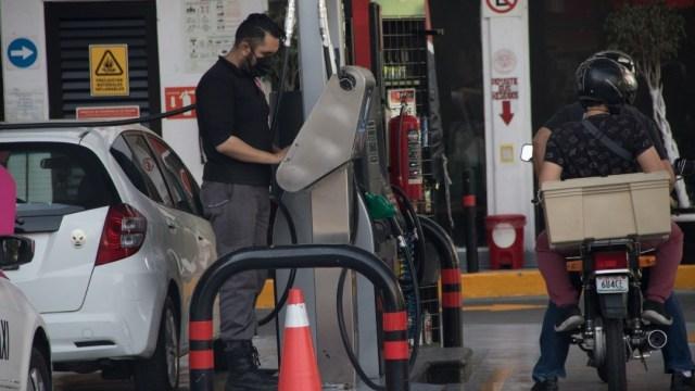 Gasolinera en la Ciudad de México