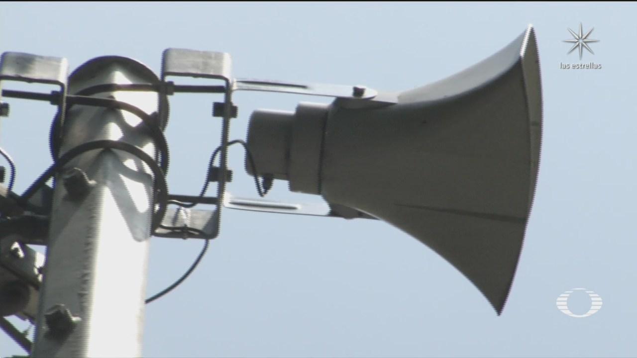 gobierno cdmx modernizara altavoces de alerta sismica