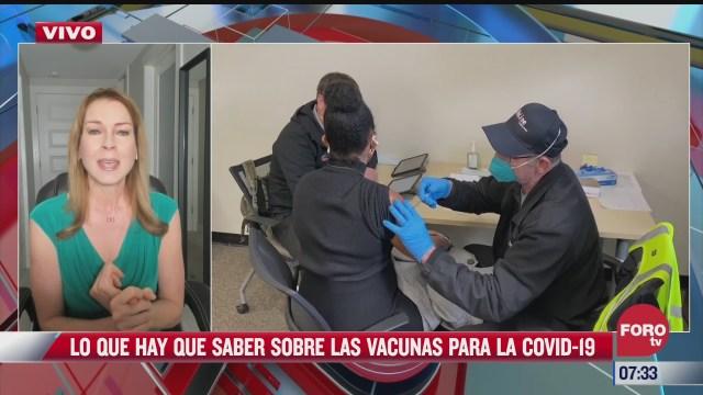 lo que debemos saber de las vacunas contra el covid