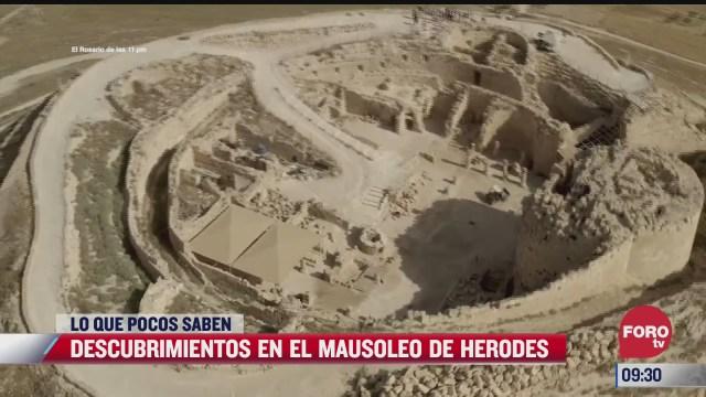loquepocossaben descubrimientos en el mausoleo de herodes