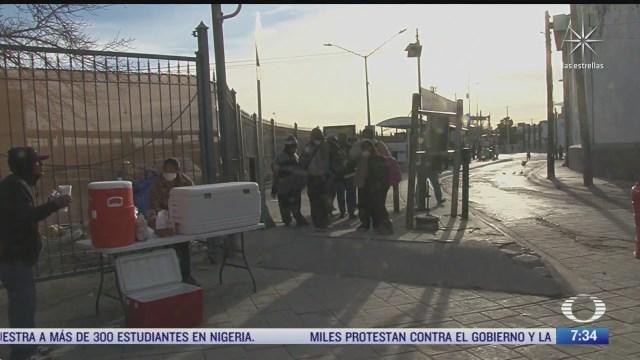 migrantes cruzan a eeuu desde mexico para solicitar asilo