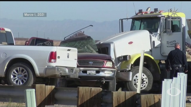migrantes fallecidos en accidente acababan de cruzar a eeuu