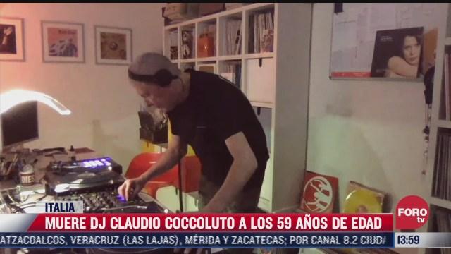 muere dj claudio coccoluto a los 59 anos de edad
