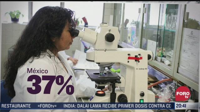 mujeres se abren brecha en la ciencia