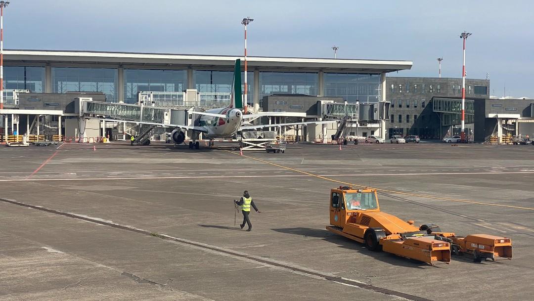 Nueva erupción del Etna provoca el cierre parcial del aeropuerto de Catania