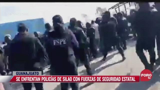 policias se enfrentan en silao guanajuato